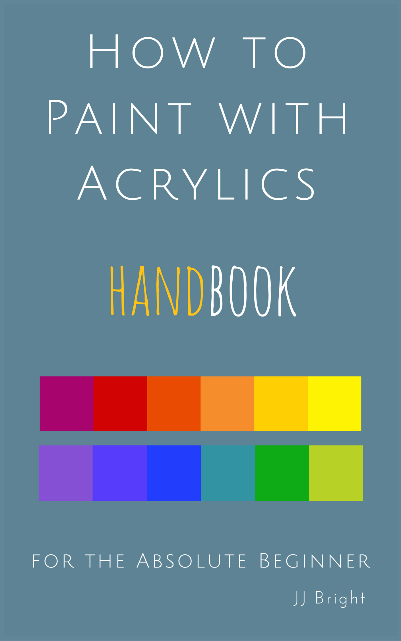 About paints an excerpt from how to paint with acrylics for How to paint with acrylics for beginners